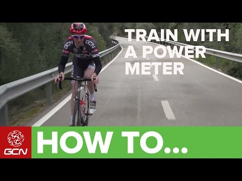 How To Train With A Power Meter