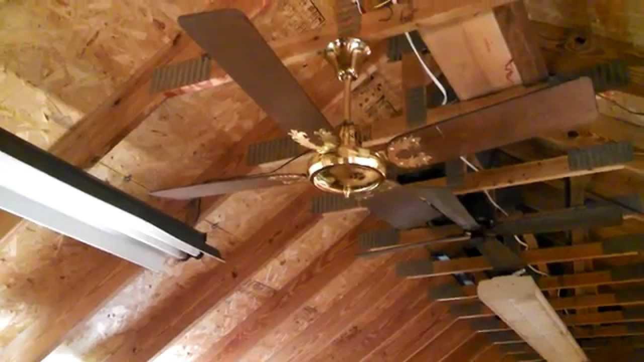 New Fan Ceiling Fan model N-101 B-52 - YouTube