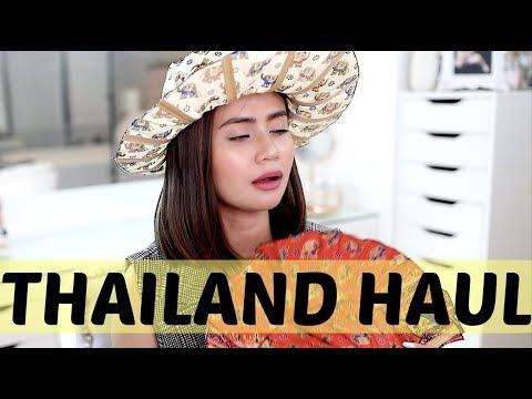 THAILAND HAUL (Makeup, Designer & Clothing) | Anna Cay ♥
