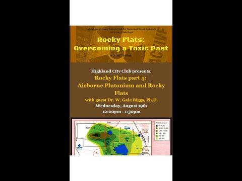 Airborne Plutonium Contamination and Rocky Flats