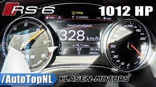 AUDI RS6 KLASEN 1012HP 0-328km/h ACCELERATION & TOP SPEED by AutoTopNL
