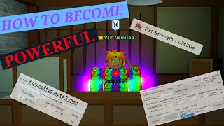 ROBLOX SUPER POWER TRAINING SIMULATOR - HOW TO BECOME MORE POWERFUL + GLITCH!