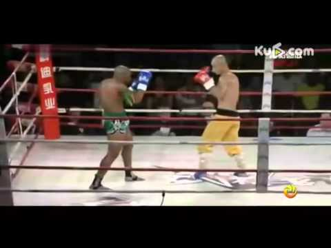 Shaolin Monk Yi Long Destroy World Champion Muaythai Cyrus Washinton
