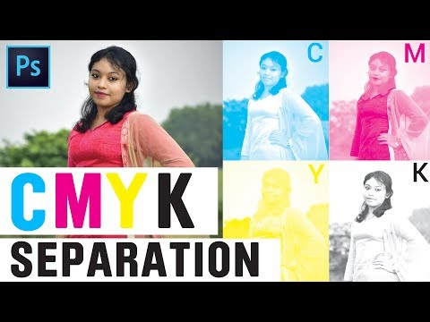 CMYK Color Separation for offset printing in Photoshop    Photoshop Tutorial in Tamil   தமிழ்