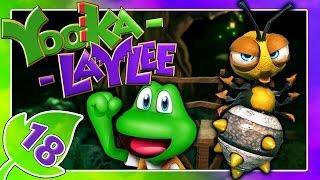 YOOKA-LAYLEE Part 18: Frogger-Anspielung & Bee Bop Minispiel