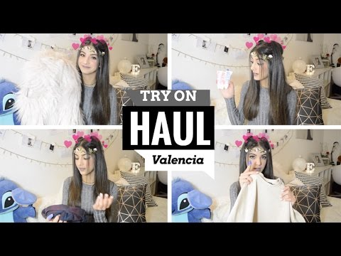 TRY ON HAUL VALENCIA! | NYX, MERCI Handy...