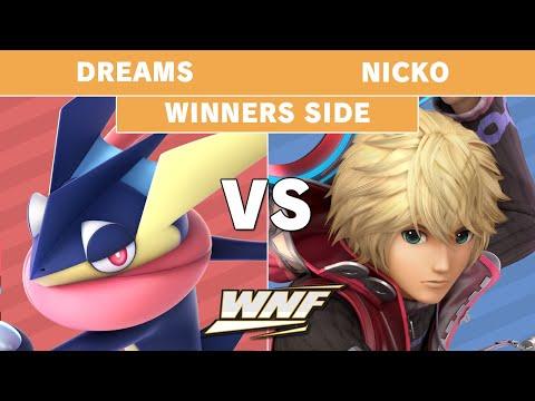 WNF 3.9 Dreams (Greninja) vs Nicko (Shulk) - Winners Pools - Smash Ultimate
