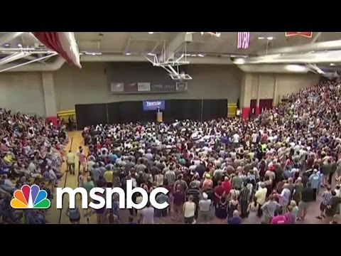 How Is Bernie Sanders Able To Draw Huge Crowds? | Morning Joe | MSNBC