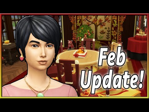 LUNAR NEW YEAR UPDATE! | The Sims 4 (February 2019) thumbnail