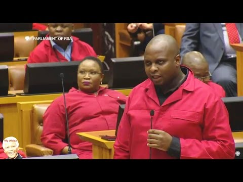 Floyd Shivambu Corners Cyril Ramaphosa On Marikana Apology