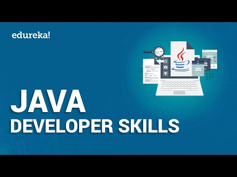 Top Java Developer Skills | How To Become A Java Developer | Java Career | Edureka