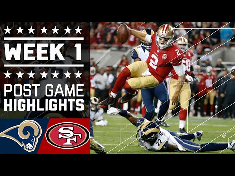 Rams vs. 49ers | NFL Week 1 Game Highlights