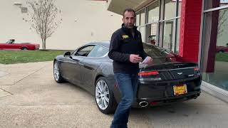 2011 Aston Martin Rapide for sale with test drive, driving sounds, and walk through video