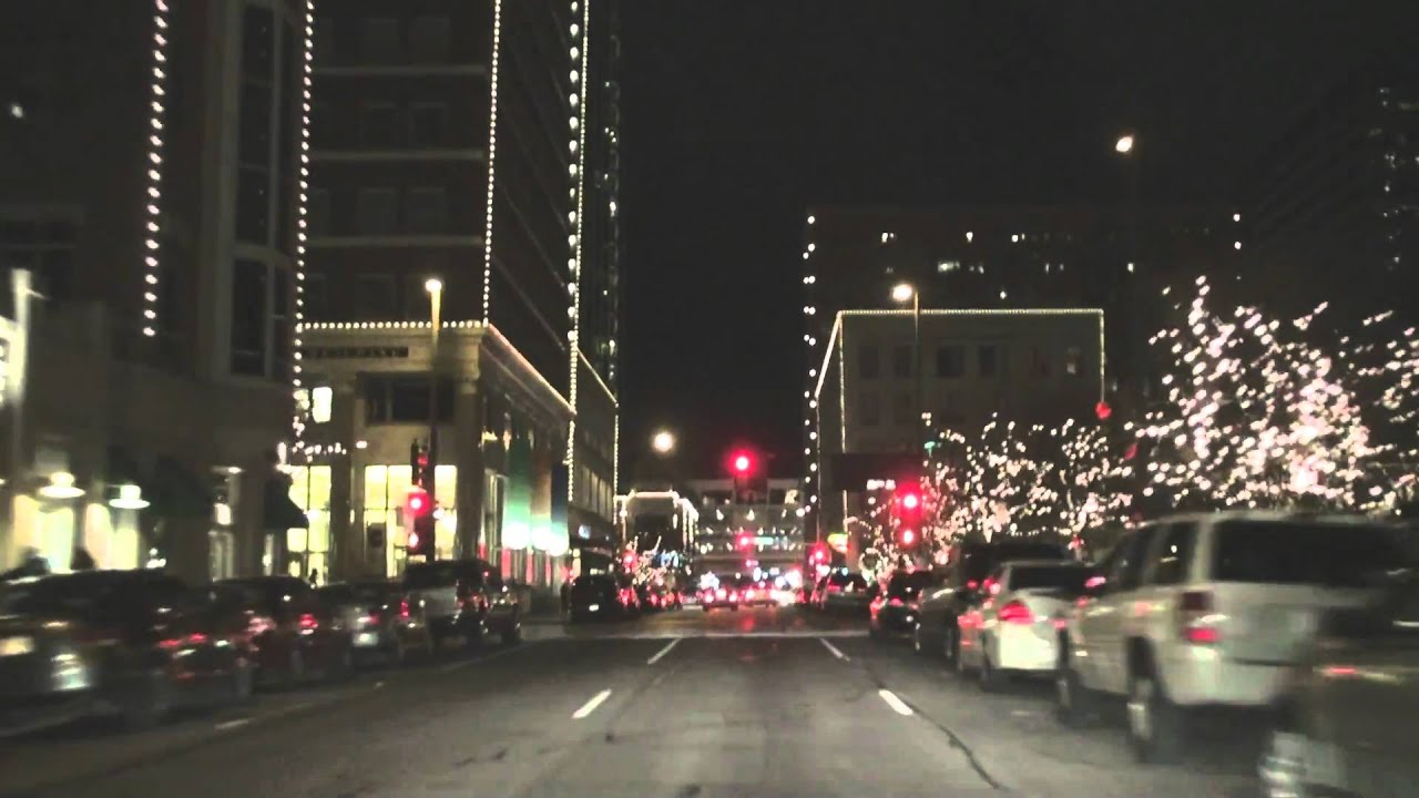 Downtown Fort Worth Tx At Night Youtube