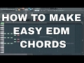 How to make EDM Chords and Melody very easily