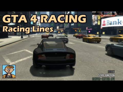 Remembering The Racing Lines - GTA 4 Racing Live #2