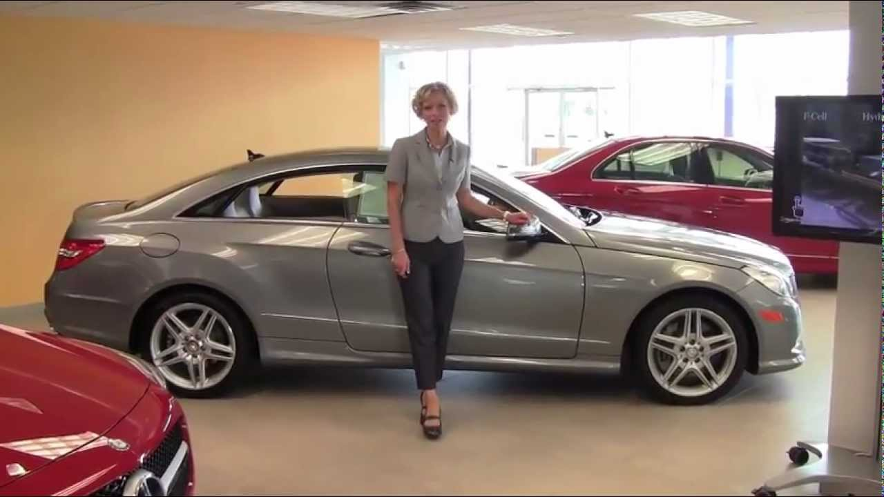 The New 2013 Mercedes Benz E550 Coupe Feldmann Imports Bloomington MN New  Walk Around   YouTube