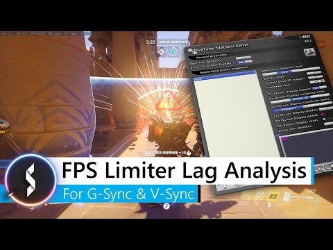 FPS Limiter Lag Analysis For G-Sync & V-Sync