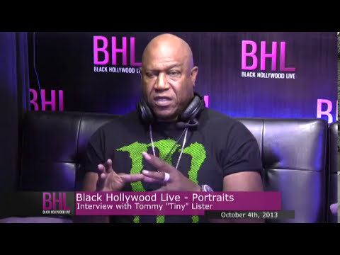 """Portraits w/ Tommy """"Tiny"""" Lister 