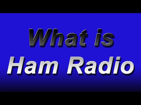 What is Ham Radio