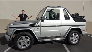 I Bought a Mercedes-Benz G500 Cabriolet!