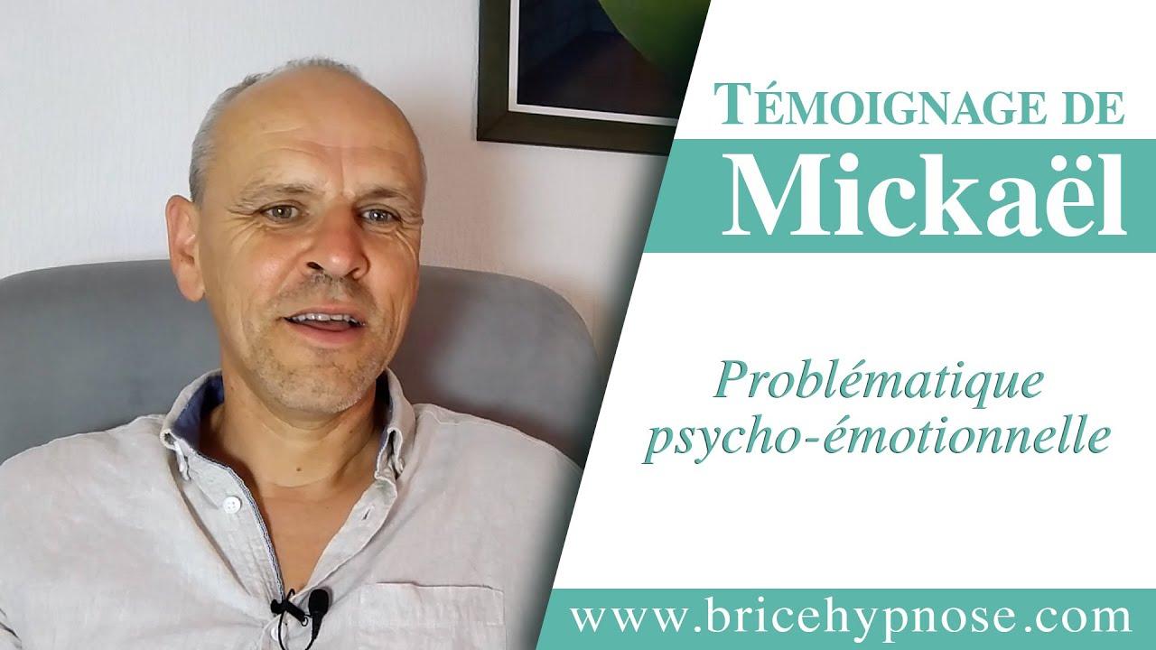 Témoignage de Mickaël après consultation d'hypnose à Angers