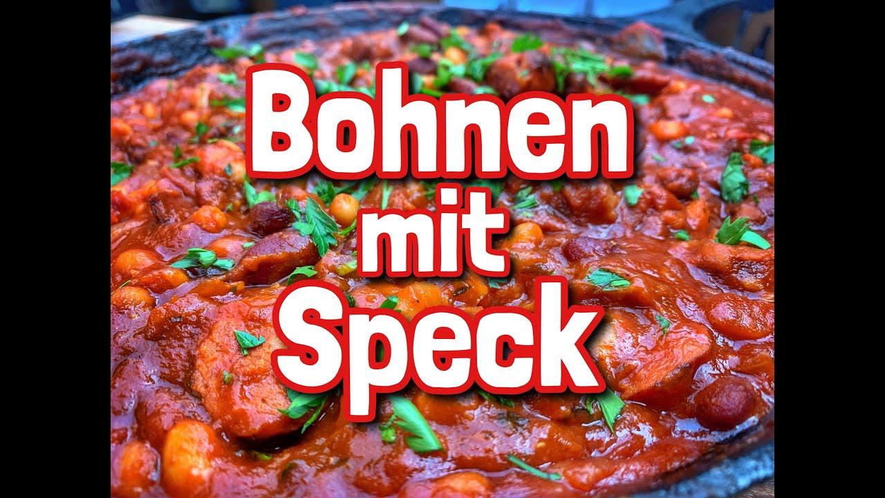 Bohnen mit Speck Westmünsterland BBQ-Style
