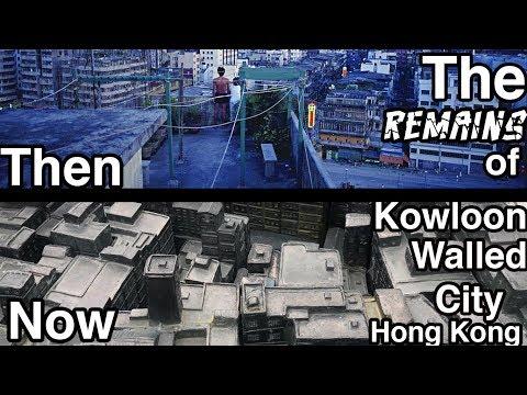 The remains of the NOTORIOUS Kowloon walled city   Hong Kong