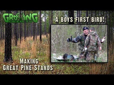 Turkey Hunting In The Pines (#229) @GrowingDeer.tv