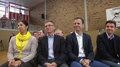 """DFB macht Schule vor Ort"": Bierhoff und Jones in Herten-Westerholt"