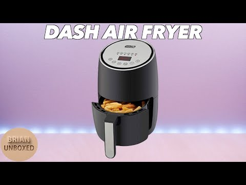 DASH Compact Air Fryer - Cook & Eat Healthier (Review & Demo)