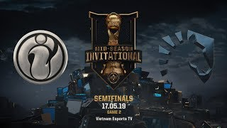 IG vs TL [HighLights MSI 2019] [17.05.2019] [Semifinals] [Game 2]