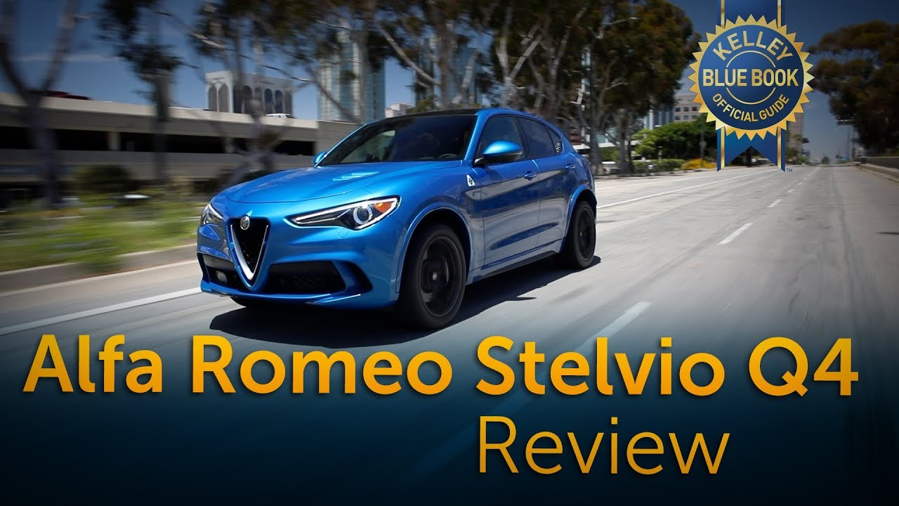 2018 Alfa Romeo Stelvio Q4 Review Road Test Youtube