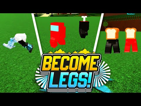 BECOME WALKING LEGS!!!! - Build a Boat For Treasure ROBLOX