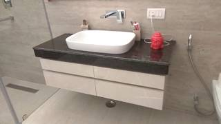 Bathroom Interior Design Ideas - Sleek Vanity & Cabinet Design