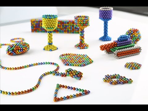 How beautiful the 2000 magnetic balls are ! Part 1