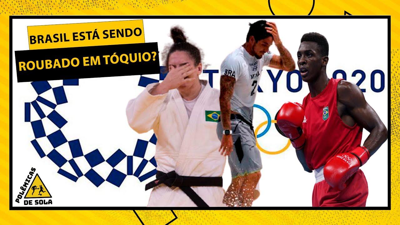 OS BRASILEIROS ESTÃO SENDO ROUBADOS NAS OLIMPÍADAS DE TÓQUIO? | POLÊMICAS DE SOLA