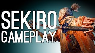 Sekiro Gameplay: SAMURAI GENERAL BOSS VS MIKE - Let
