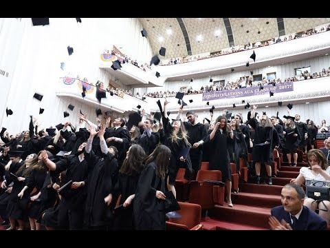 AUA Inaugural Undergraduate Graduation Ceremony 2017