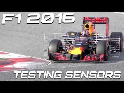 """FORMULA 1 2016 Sound - Ferrari vs Mclaren vs Red-Bull / 2016 F1 test  """"Aero rake"""""""