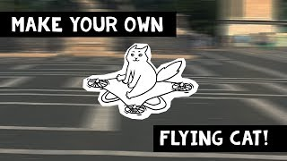 Make Your Own Flying Cat Video!  [CC] ENGLISH + [CC] DEUTSCH + FREE Download
