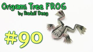 Cool Origami Frog Money by Rudolf Deeg - Yakomoga dollar Origami tutorial