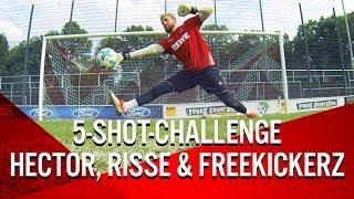 Speed Fussball Challenge I Jonas Hector vs. Marcel Risse vs. Timo Horn vs. freekickerz
