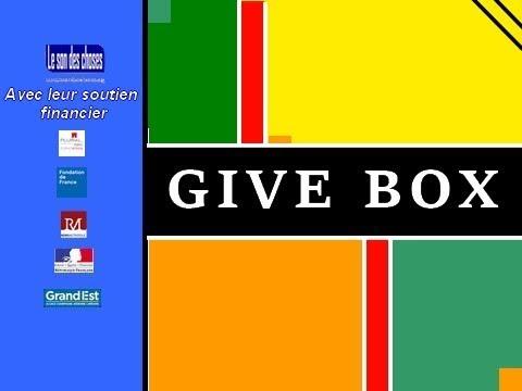GiveBox maison de quartier Châtillons