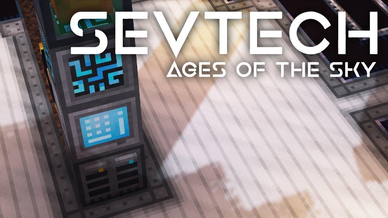 SevTech: Ages of the Sky Ep. 52 Refine Storage Setup + News