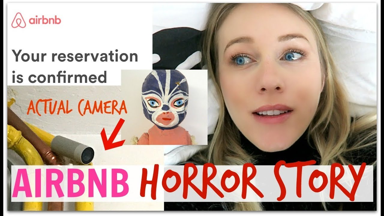 AIRBNB HORROR STORY! | VidCon Europe Part 1