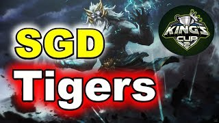 Tigers vs SGD Epic Match King's CUP SEA Group Stage