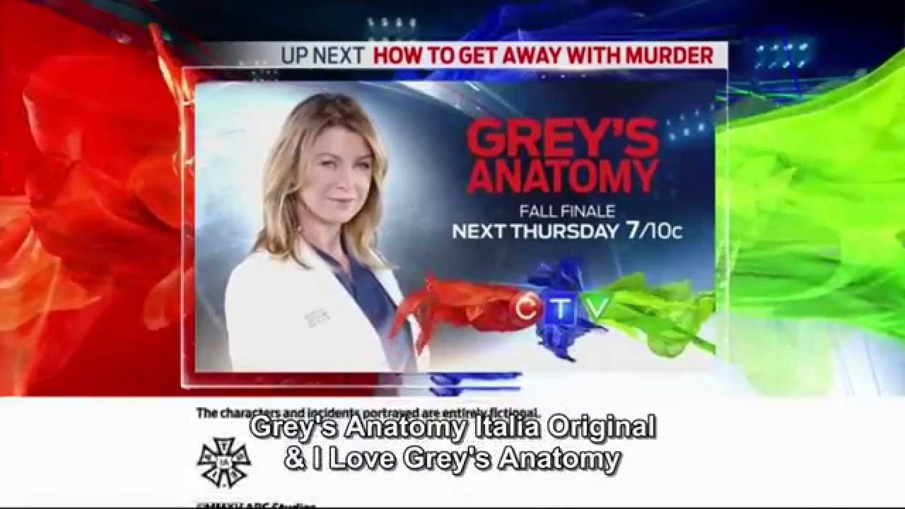 Grey's Anatomy 12x08 - Promo abc + CTV SUBITA - YouTube