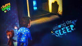 - СИМУЛЯТОР МАЛЫША детский хоррор в котором мы играем за маленькую девочку Among the Sleep