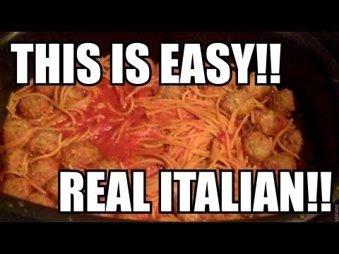 Super Easy Spaghetti & Meatballs!!!  Ninja Cooking System